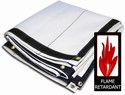 White Fire Retardant 10 x 10